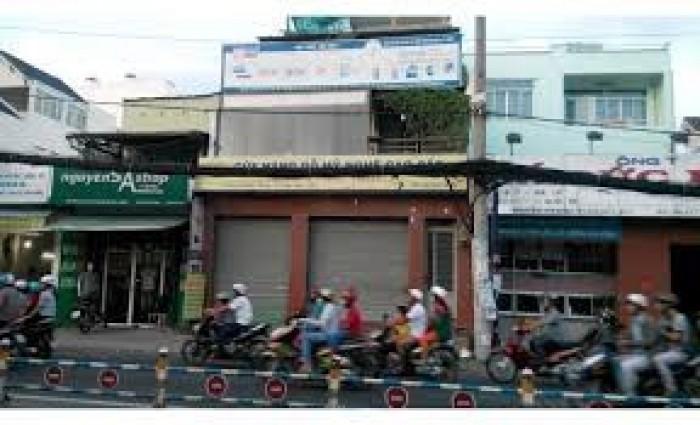 Bán nhà mặt tiền đường số 60,Tân Quy Quận 7,DT 10x38m,nở hậu 10,5m.