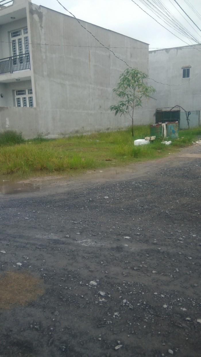 Bán 1913m2 đất, mặt tiền đường nhựa 8m, xã Hưng Long, huyện Bình Chánh.