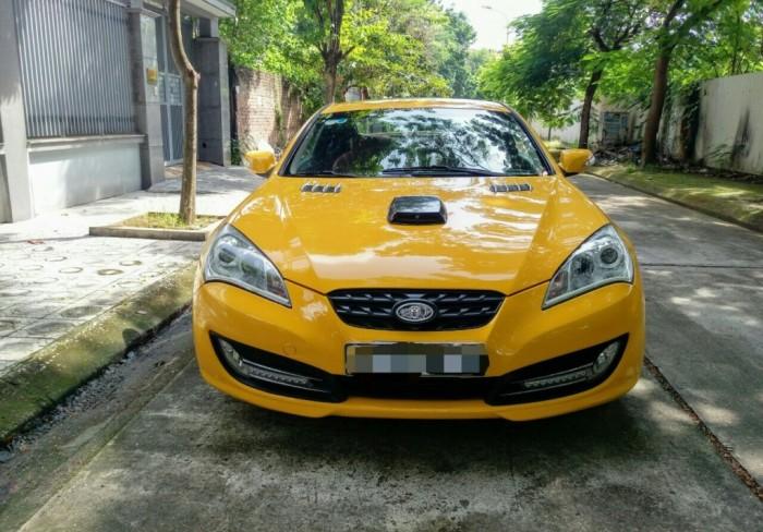 Huyndai Genesis 2.0 tubor S  màu vàng Đời 2012, đăng ký Biển Hà Nội