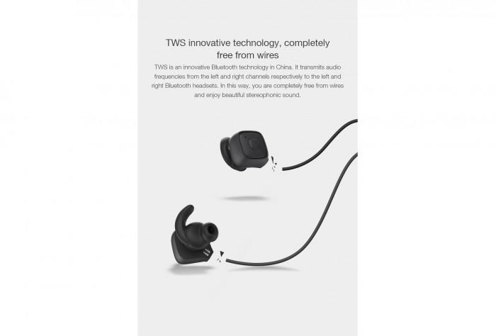 Bộ 2 Tai Nghe Bluetooth ROMAN Q6 TWS, Chip Airoha Công Nghệ Âm Thanh Đỉnh Cao - MSN1812861