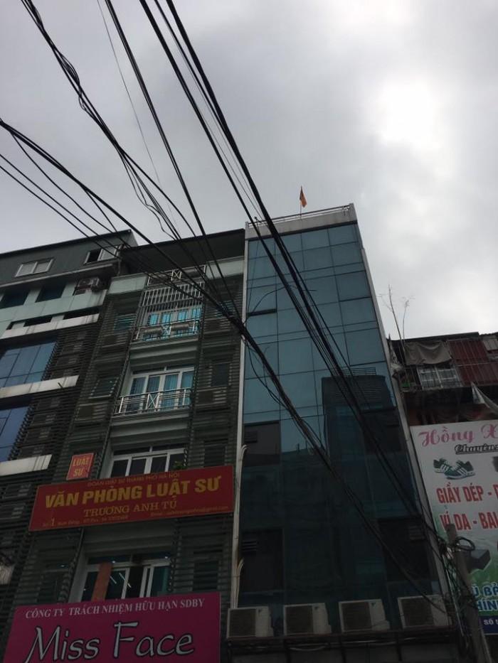 Bán nhà mặt phố Khương Thượng diện tích 52m2x 4 tầng, mt 4m