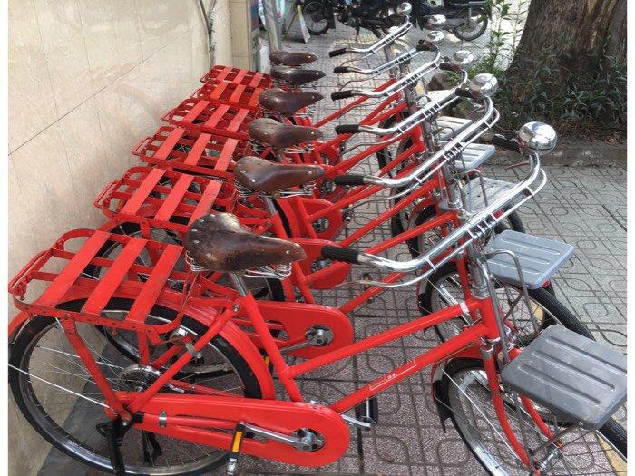 Xe đạp trâu thư báo cổ - Nhật