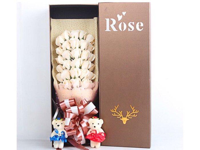 Hoa hồng sáp 33 bông1