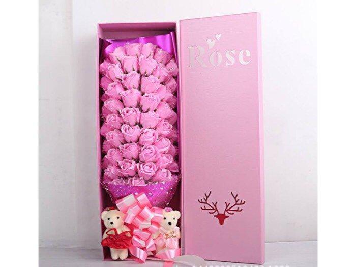 Hoa hồng sáp 33 bông2