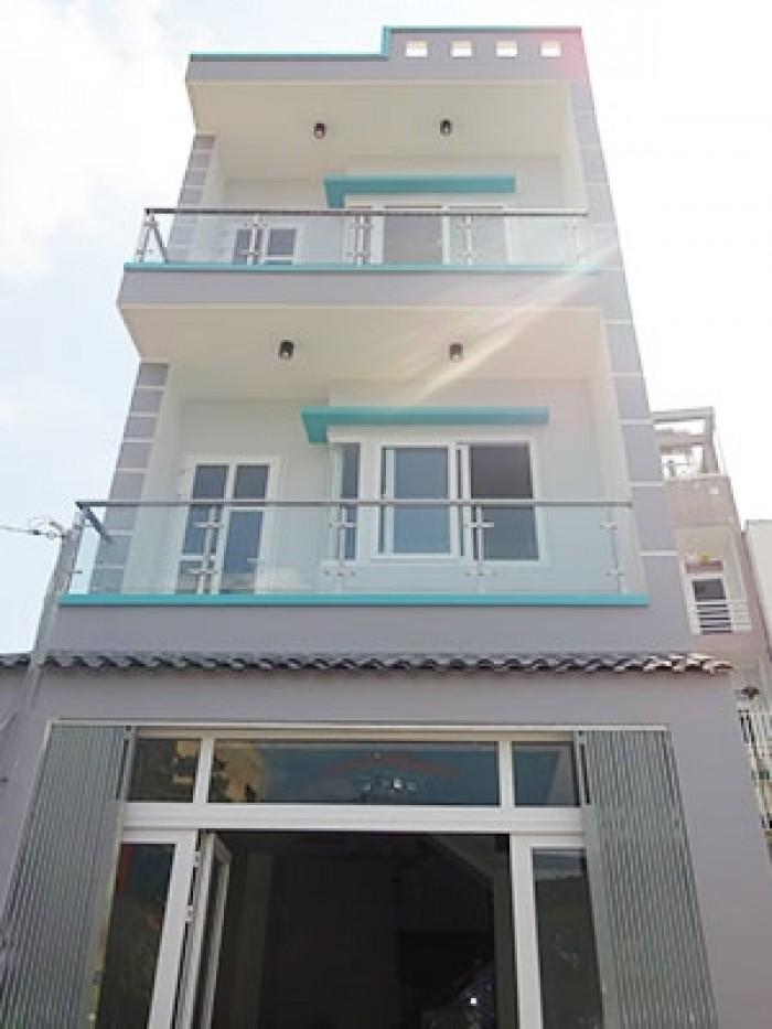 Nhà Đường NB 10m Nguyễn Cửu Vân, P.17, BT, 5x15m