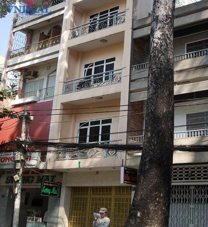 Bán mặt tiền Đẹp Bà Huyện Thanh Quan, Q. 3 DT: 4x21m, xây 3 lầu
