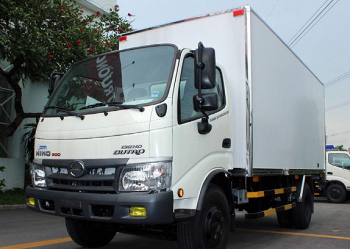 Xe tải Hino 5 tấn thùng lửng - WU342L 130HD