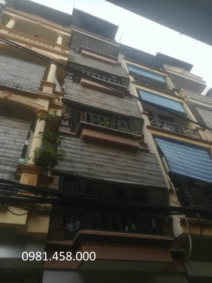 6 tầng, phân lô, gara phố Trung Kính