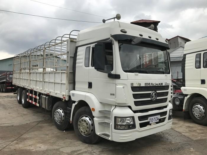 Xe tải shacman 4 chân nhập khẩu nguyên chiếc tải trọng cao nhất thị trường