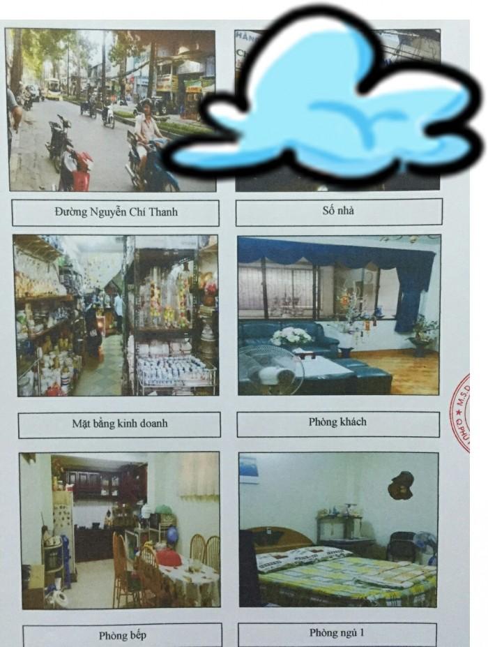 Bán nhà MT Nguyễn Chí Thanh , P9, Q.5. Gần nhà hàng Chay của Phi Nhung & Khách sạn 3*