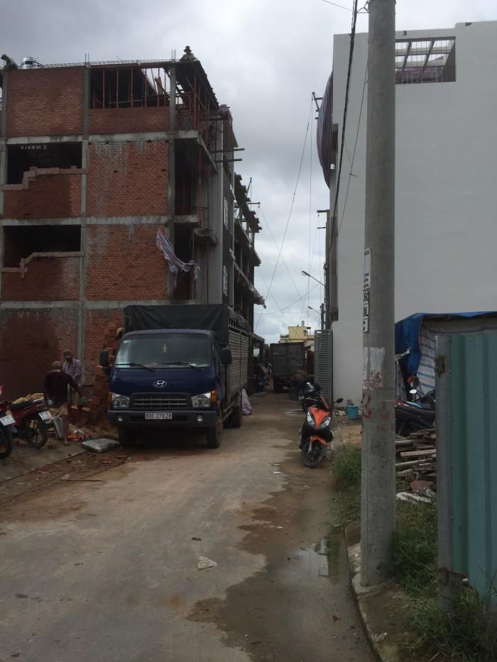 Bán nền nhà phố đường 27 Hiệp Bình Chánh ,74m2 . Thủ Đức .
