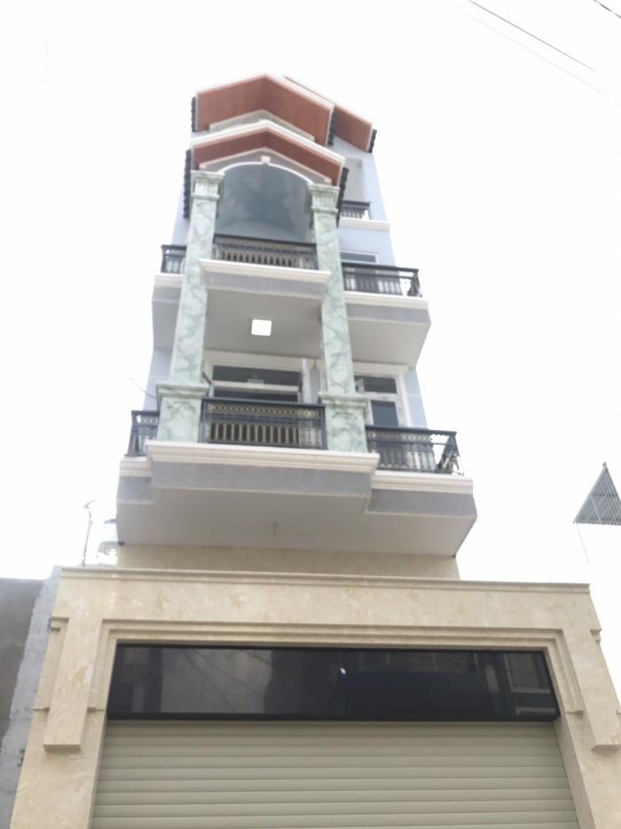 Bán Nhà hẻm 237 Phạm Văn Chiêu, phường 14, quận Gò Vấp, 4 x 14,5m, 1 Trệt + 1 lửng, 3 Lầu