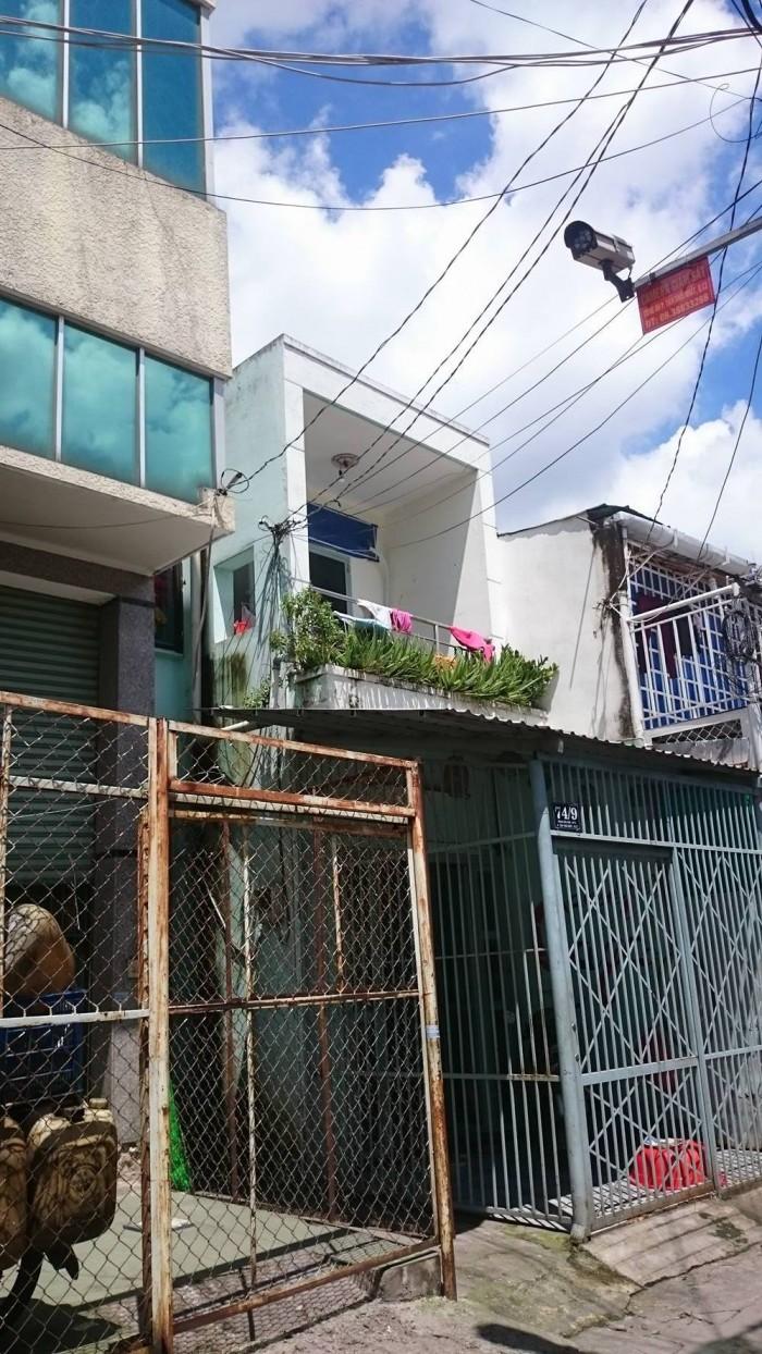 HXH 5M 74 Phan Văn Hớn, Quận 12 3,7x21m, 2 tầng,thêm 4 phòng trọ ở sau