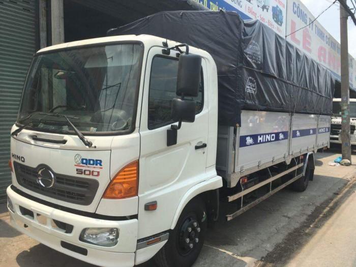 Hino 700 Series (HDT) sản xuất năm 2015 Số tay (số sàn) Xe tải động cơ Dầu diesel
