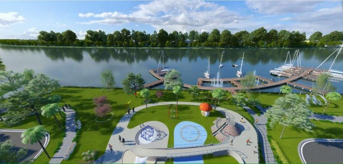 Bán đất nền dự án đô thị ven sông