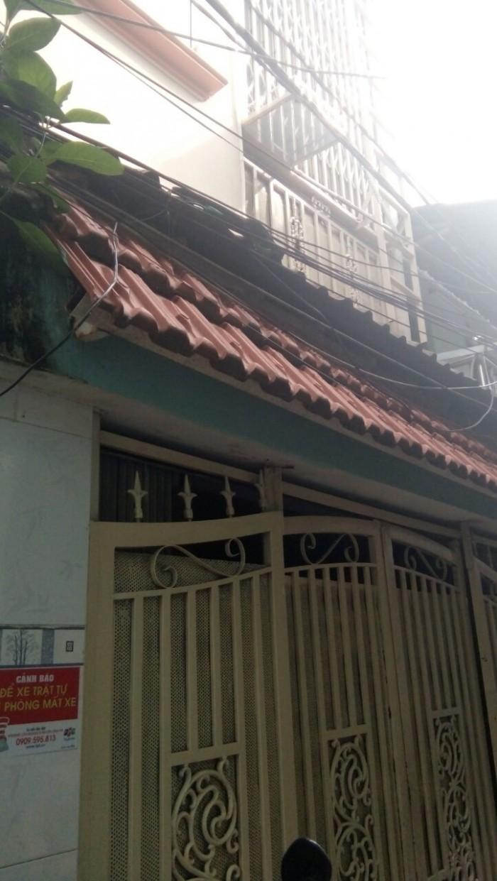 Bán gấp nhà sổ hồng riêng, 2 lầu, Huỳnh Tấn Phát, TT Nhà Bè, Dt 3,5x10m.
