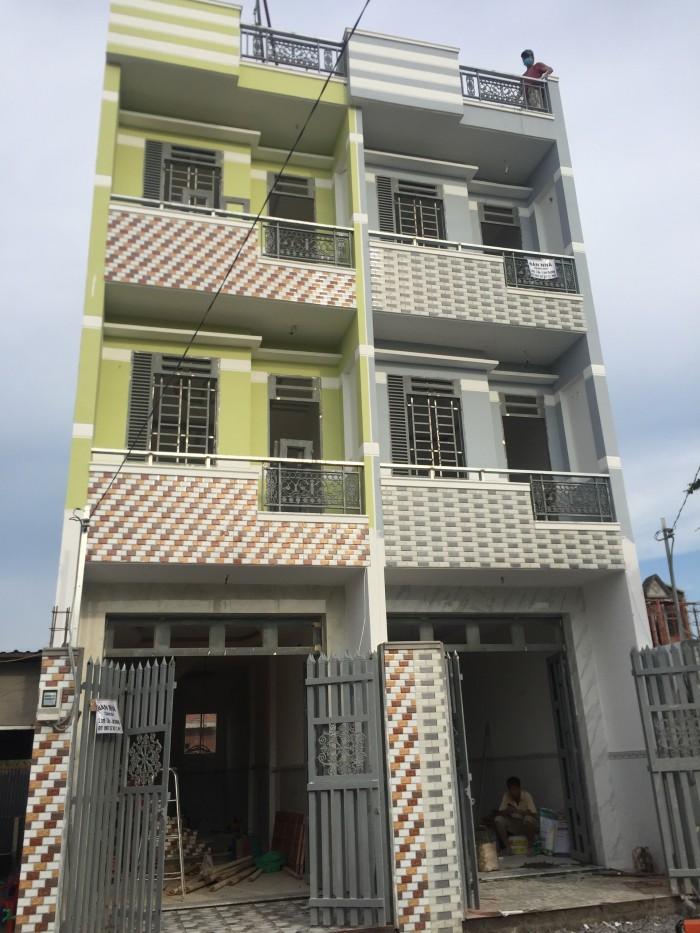 Bán nhà đúc 2 lầu sổ Hồng riêng DTSD  100m2  Đào Sư Tích.