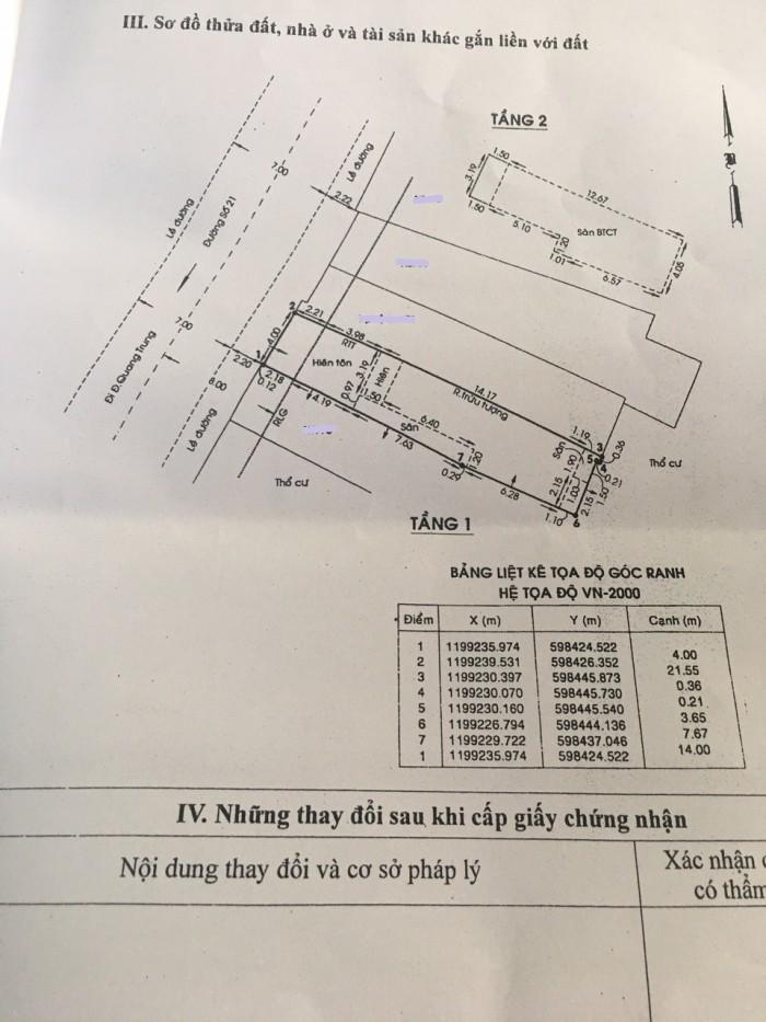 Bán nhà nát mặt tiền đường số 21, phường 8, quận Gò Vấp, 4 x 21,6m, giá 6,4 tỷ