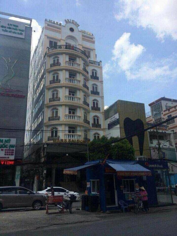 Bán khách sạn 3 sao 8 tầng thang máy mặt tiền lê thị riêng p.bến thành quận 1