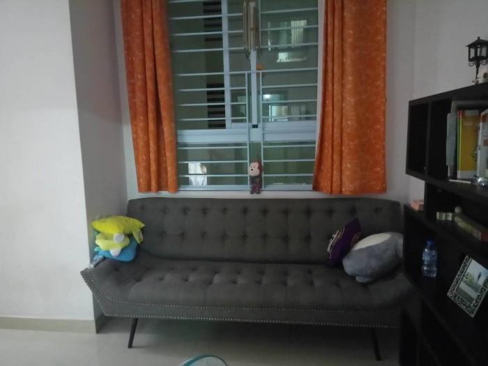 Cần bán căn hộ Sacomreal 584, Q.Tân Phú, Dt : 72m2, 2PN, 2 wc
