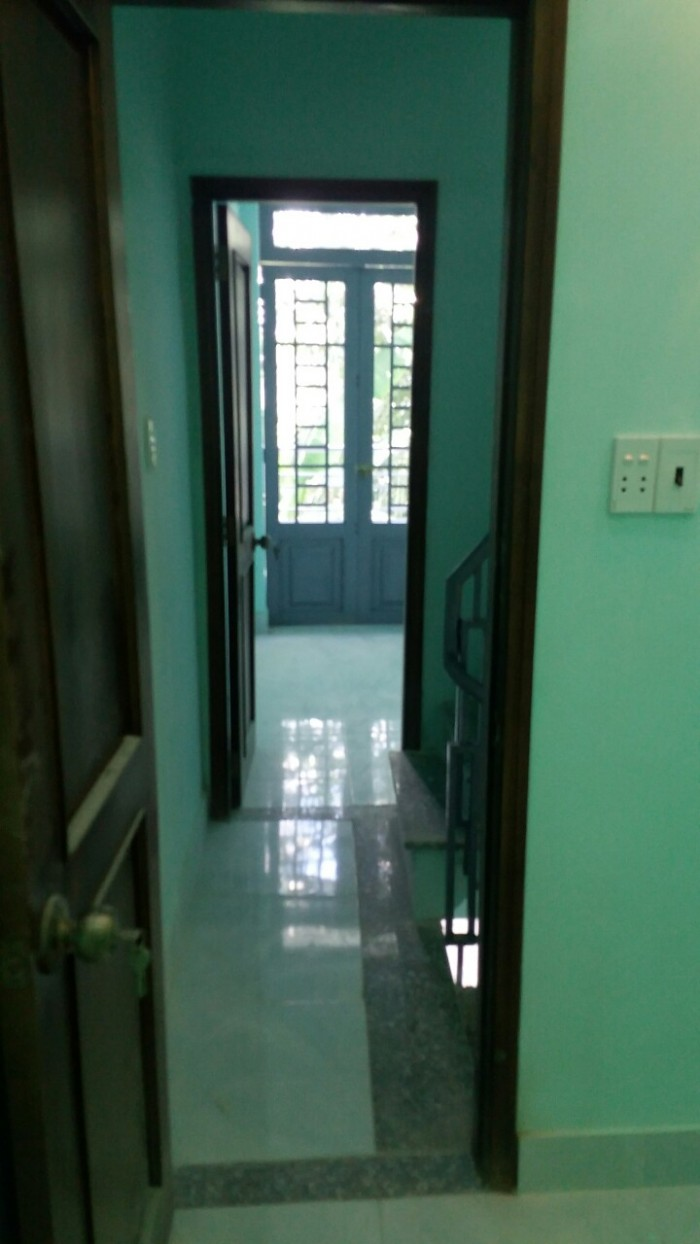 Nhà phố 1 trệt 2 lầu, 4PN, dtsd 45m2 hẻm thông betong 8m đường Nguyễn Thị Sáu,Q.12