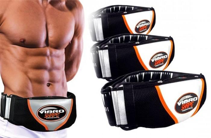Đai giảm béo Vibro Shap,máy giảm cân an toàn,đai rung nóng đánh tan mỡ bụng,đùi,bắp tay cho nam nữ