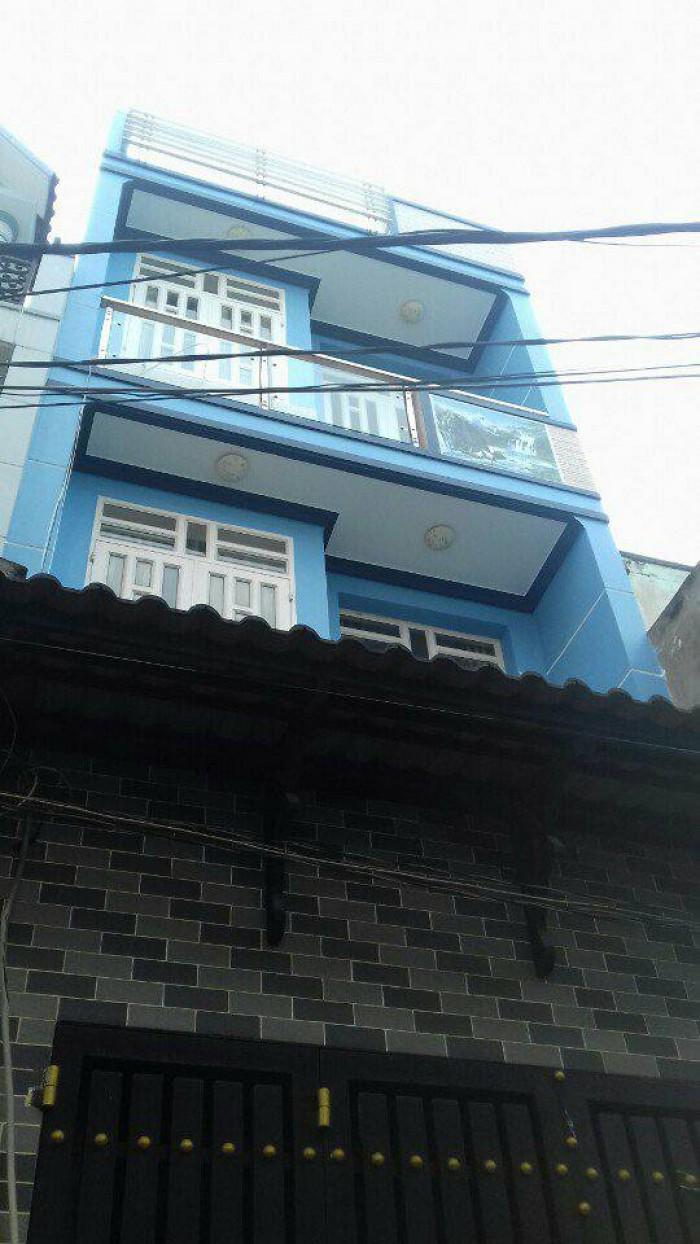 Bán nhà: Đường Hương Lộ 2, P.Bình Trị Đông A, Q.Bình Tân (2.9 tỉ)