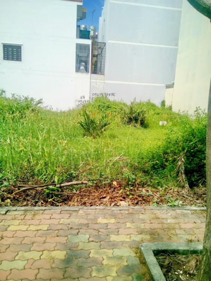 Bán nhanh lô đất thổ cư vị trí đẹp mặt tiền đường 16m,Phú Thuận, Q7,DT 5x20m. Giá 5 tỷ