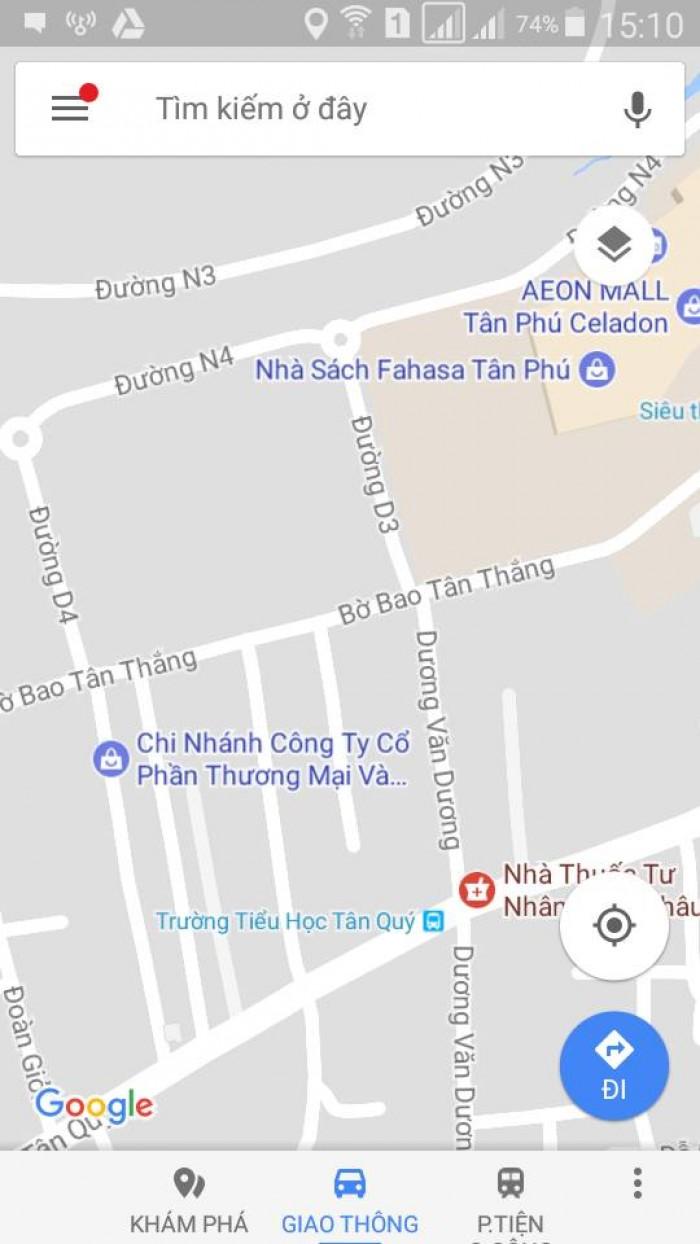 Bán nhà: Đường Bờ Bao Tân Thắng, P.Sơn Kỳ, Q.Tân Phú