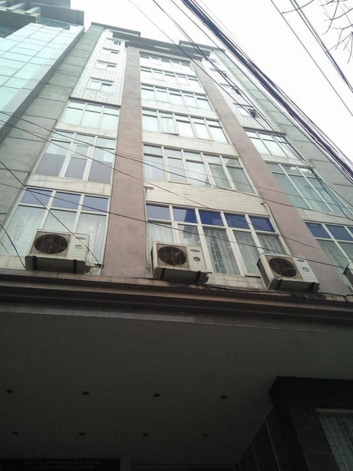 Bán tòa nhà mặt phố Láng Hạ, Đống Đa, diện tích 180m2x 11 tầng, mt 8.5m giá TL.