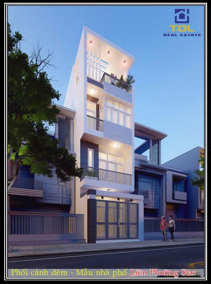 Gía đầu tư: Sở hữu ngay nhà phố MT Liên Phường, Phú Hữu Q9, 1T3L,4PN,3WC.