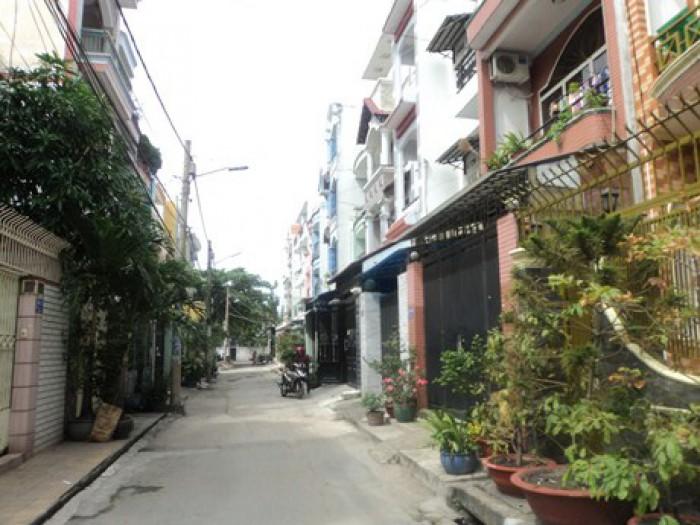 Nhà MT Đường  Nguyễn Trãi, Quận 1, DT: 5x31m, nở hậu 175m2, Xây 1 trệt 3 Lầu