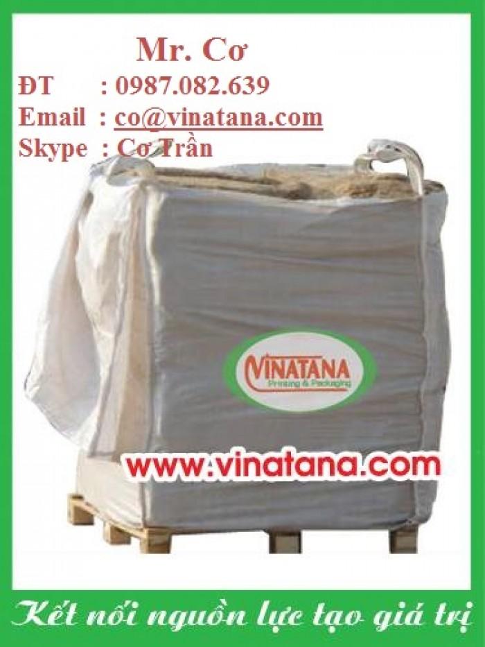 Bao Jumbo 1 tấn, bao jumbo đựng gạo, khoáng sản, mùn cưa ...2