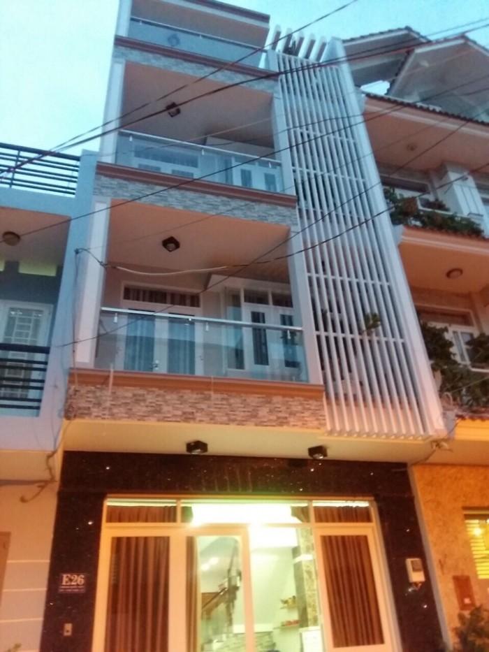 Bán nhà đẹp thiết kế hiện đại khu Lacasa Hoàng Quốc việt, Q7,DT 5x13m, 3 lầu.