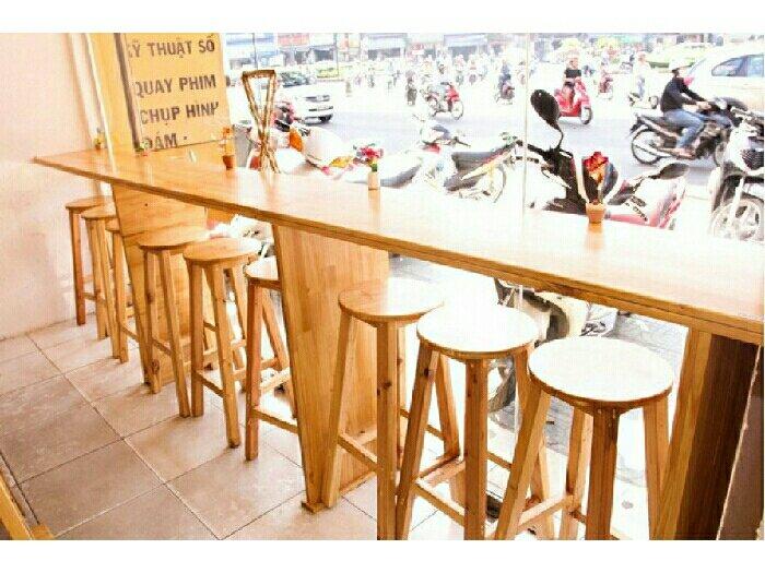 Bàn ghế cafe quầy giá rẻ2