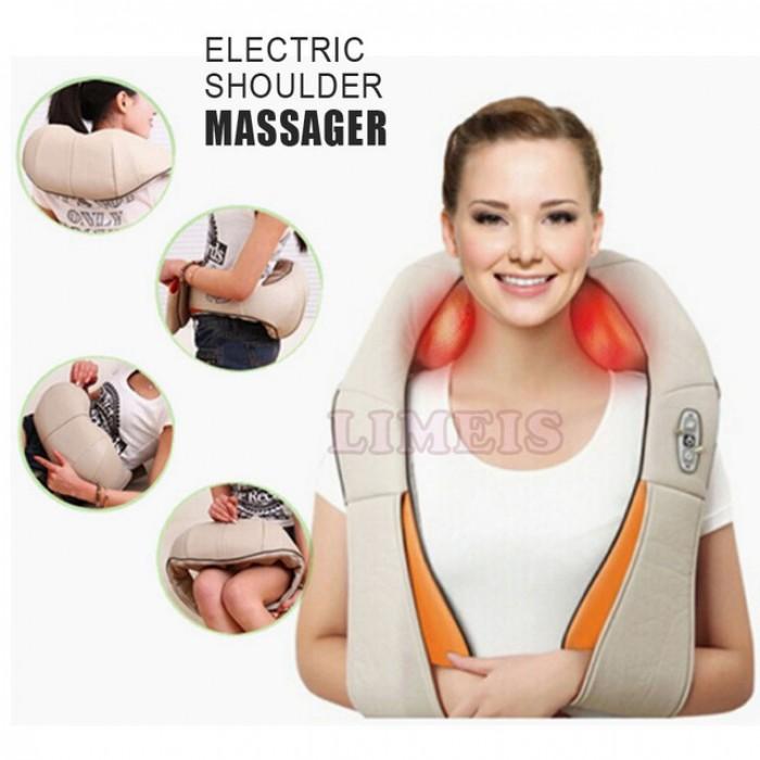 Đai đeo massage giảm đau vai cổ gáy,máy massage cầm tay 11 đầu,máy massage cầm tay 7 đầu Nhật Bản