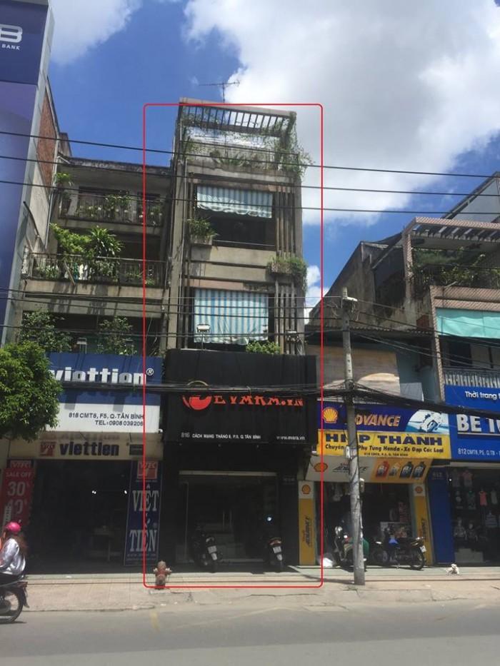 Cho thuê nhà mặt tiền ngay khu thời trang tập trung đường CMT8, Quận Tân Bình