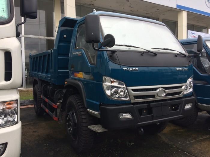 Mua bán xe ben 6 tấn Forland giá tốt nhất, lãi suất thấp chở cát đá 5