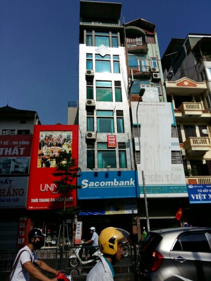 Cho thuê văn phòng 70m2 và 30m2 tại mặt Phố Nguyễn Lương Bằng