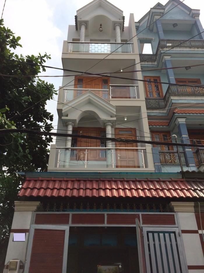 Bán Nhà Hẻm Phạm Văn Chiêu, phường 14, quận Gò Vấp, 4 x 18,7m, 1 Trệt + 1 lửng, 4 Lầu, giá 5,1 tỷ