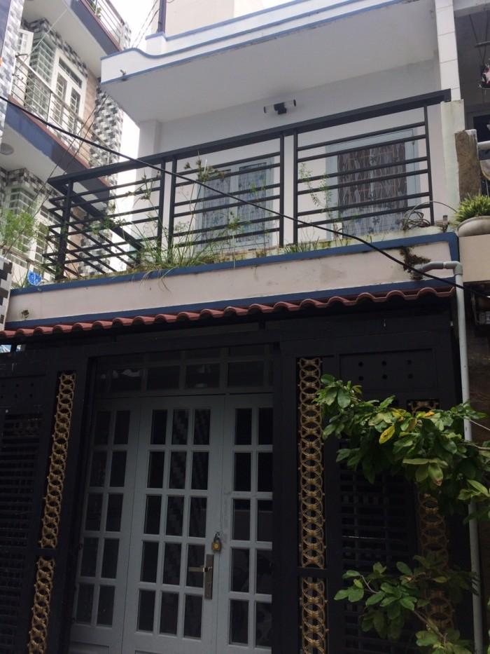 Bán Nhà Hẻm 4m Phan Văn Trị, Dt 28m2