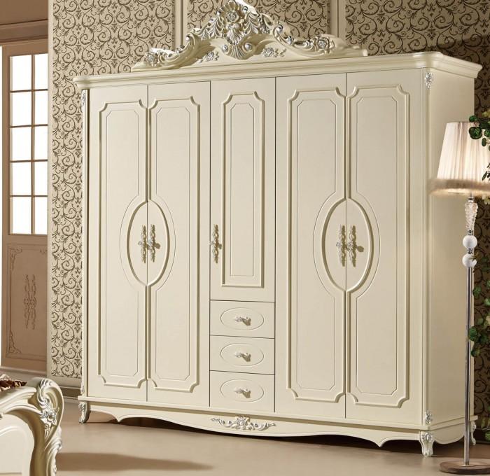 tủ quần áo tân cổ điển phong cách châu âu11