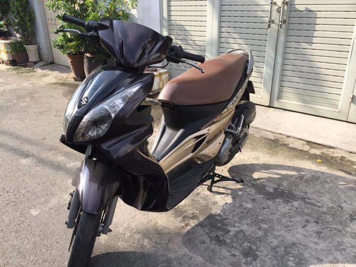 Suzuki hayate 125cc, phiên bản đặc biệt, 2 đèn,màu nâu 5