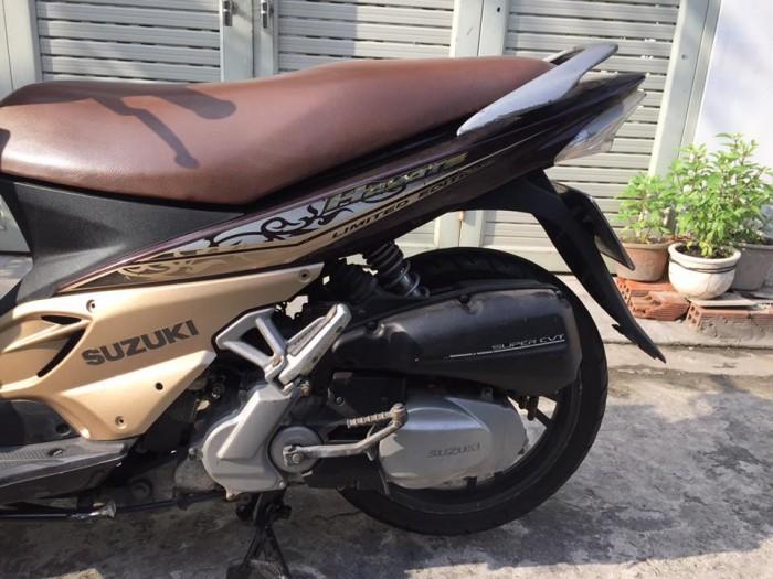 Suzuki hayate 125cc, phiên bản đặc biệt, 2 đèn,màu nâu 8