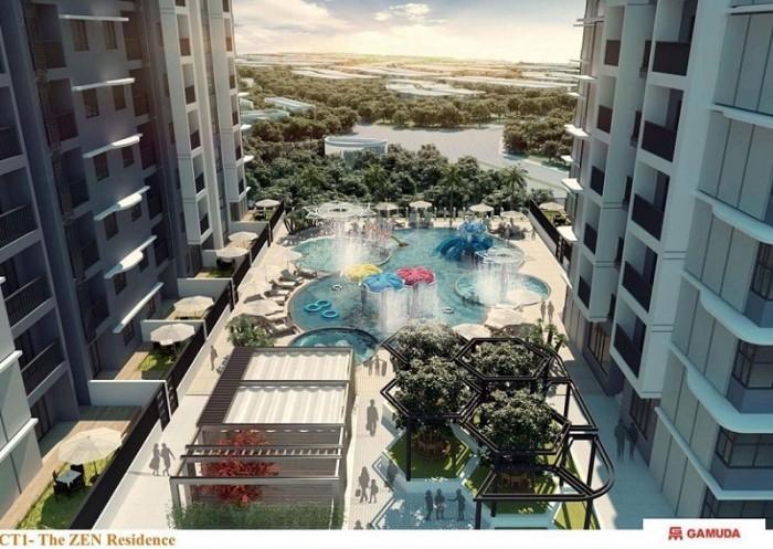 Bán căn hộ chung cư Gamuda Gardens, Hoàng Mai, Hà Nội; 1 phòng ngủ 54m2