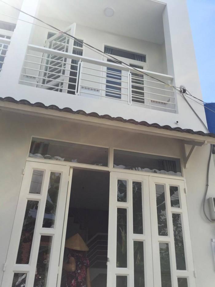 Cho thuê nhà 1 Trệt 1 Lầu,2PN kiên cố sạch sẽ P Bình Trưng Tây Q2