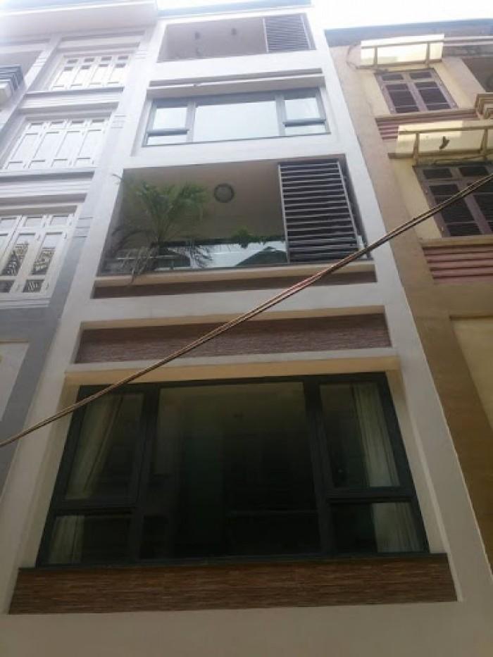 Nhà Phố Tây Sơn-Đống Đa, vỉa hè, kinh doanh tốt, 52m2, 5 tầng mới