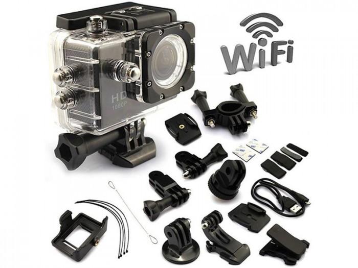 Camera Hành Trình Hd1080 Sport Cam A19-Lcd 2-Wifi Romote1