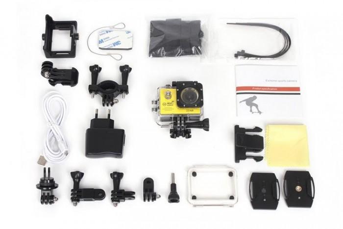 Camera Hành Trình Hd1080 Sport Cam A19-Lcd 2-Wifi Romote3