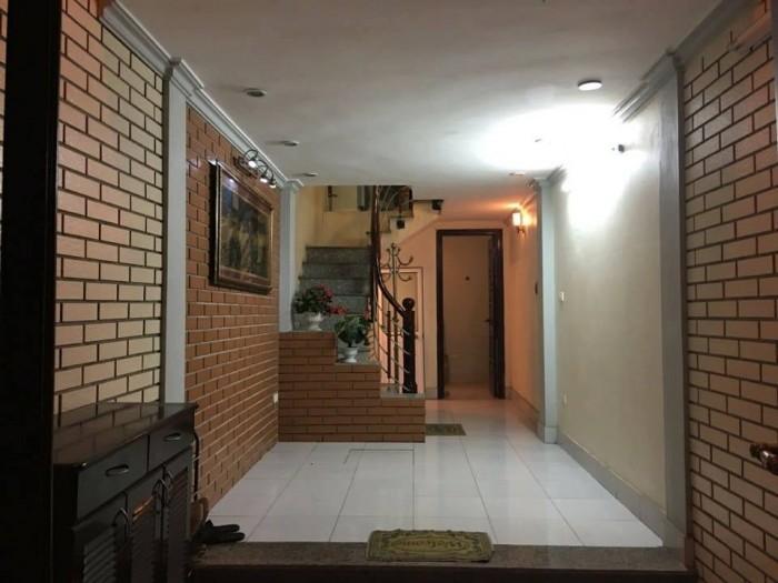 Bán nhà đẹp oto đỗ Văn Cao Ba Đình ngõ oto 52m2x4T